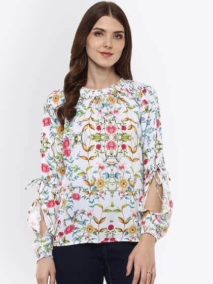 77668b9c81735 Women White Top - Buy Women White Top online in India