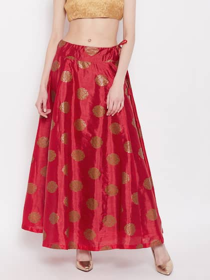 284af514c2 Ethnic Long Skirts - Buy Ethnic Long Skirts Online | Myntra