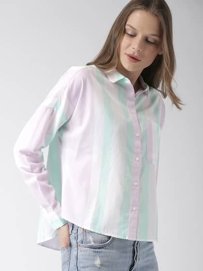76f3e460 Tommy Hilfiger Women Shirts - Buy Tommy Hilfiger Women Shirts online ...