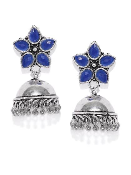 9c2f2a5b7 Blue Earrings | Buy Blue Earrings Online in India at Best Price