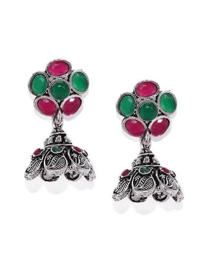f24042cb1 Green Earrings - Buy Green Earrings Online in India