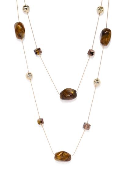 83d0549efc3963 Necklace - Buy Necklace for men, women & girls Online | Myntra