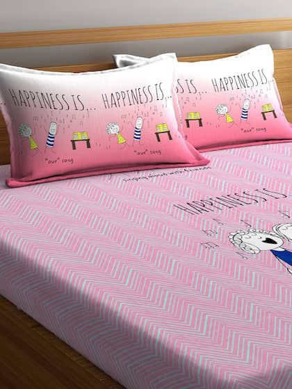 abb5413e991 Portico New York. 144 TC 1 Queen Bedsheet with 2 Pillow Covers