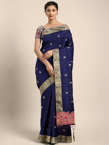 60347c30b0c Embroidered Sarees - Buy Designer Embroidery Saree Online