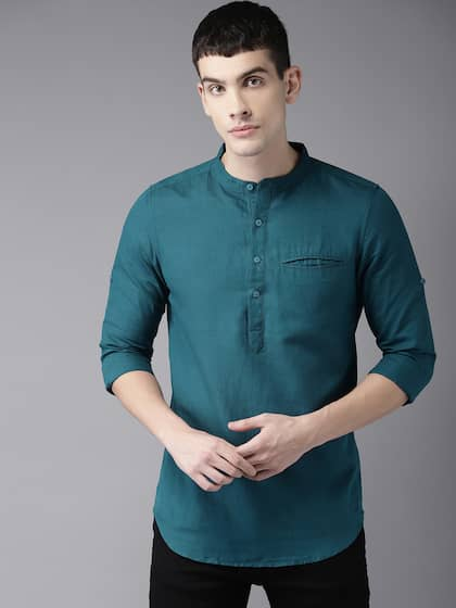 800f25986e1110 Shirts for Men - Buy Mens Shirt Online in India | Myntra