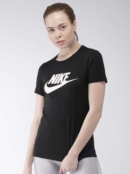 Trustful Nike Womens Tracksuit Top Jacket Size 14 Large Black Loose Fit Vintage Women's Clothing