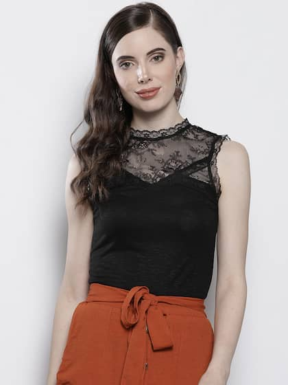 45ff8056cec68 Lace Tops - Buy Lace Tops for Women & Girls Online in India | Myntra