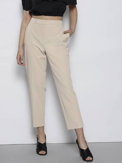 3c9e087a8 Women Formal Trousers - Buy Women Formal Trousers online in India