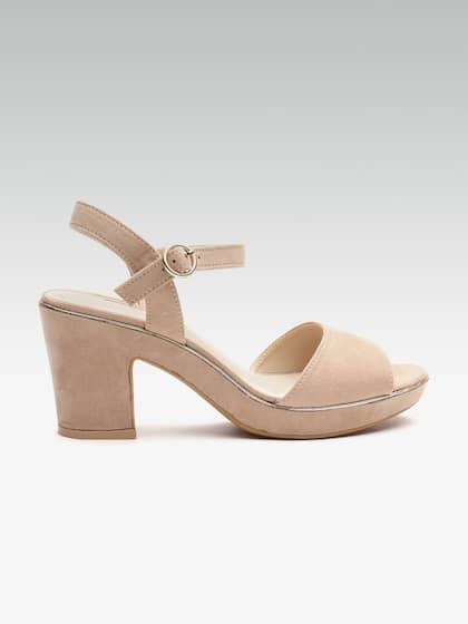 5a2e2f3e5 Heels Online - Buy High Heels, Pencil Heels Sandals Online | Myntra