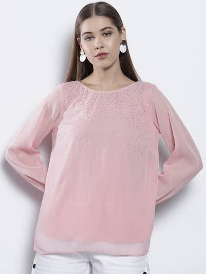 f5a073638cf0f7 Embellished Tops - Buy Embellished Top for Women & Girls | Myntra