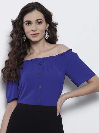 aad26e1d58a Off Shoulder Tops - Buy Off Shoulder Tops Online in India | Myntra