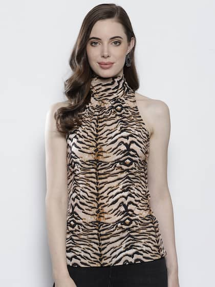 514747a723b38 Animal Print Tops For Women - Buy Animal Print Tops For Women online ...