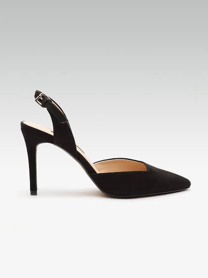 cd29b5f47eaf Black Heels - Buy Black Heels Online in India