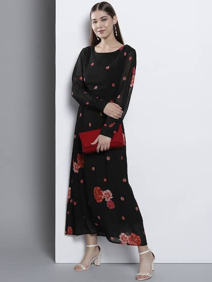 148272dee5 Long Sleeve Gowns - Buy Full Sleeve Gown Online in India