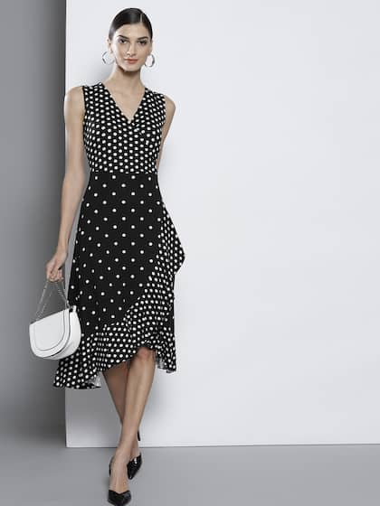 7e8c3df184a Polka Dots Dresses - Buy Polka Dots Dresses online in India - Myntra