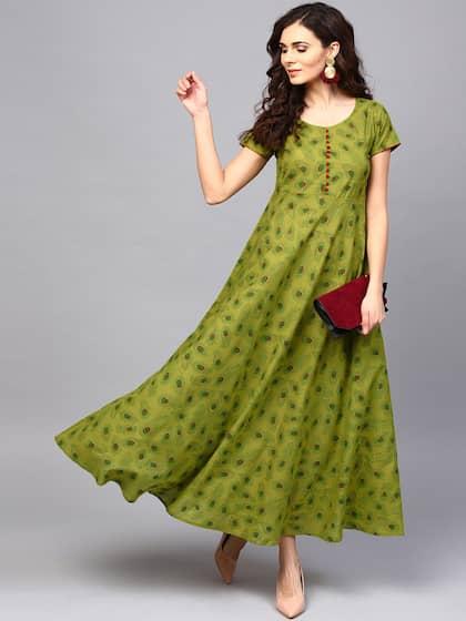 3ec2d90794d Printed Gown - Buy Printed Gown online in India