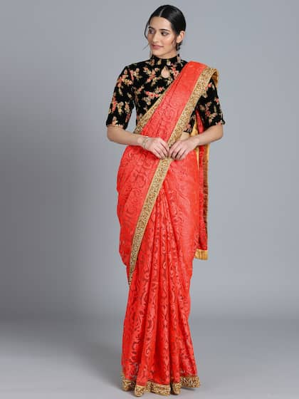 1d1b1ff1cb Bollywood Vogue Sarees - Buy Bollywood Vogue Sarees online in India