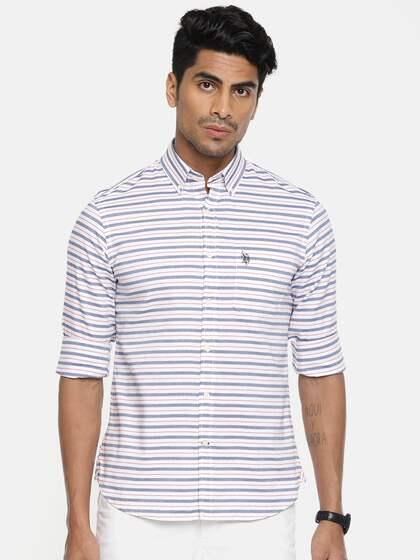 b3bc3a2e26 Mandarin Collar Shirts - Buy Mandarin Collar Shirt | Myntra