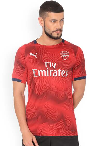 002bd761a88 Football Jerseys - Buy Football Jersey Online in India | Myntra