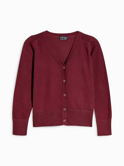c36a2e0dc4f3c Girl's Sweaters - Buy Sweaters for Girls Online in India | Myntra