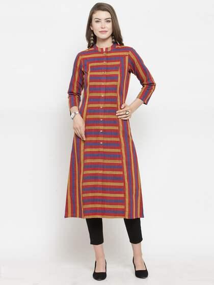 8f44cc15680 Khadi Kurtas - Buy Khadi Kurtas online in India