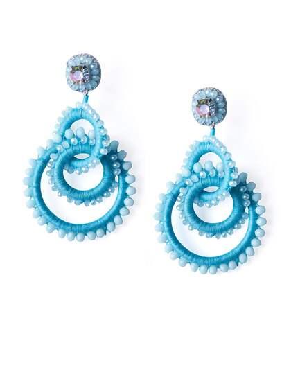 Blue Earrings   Buy Blue Earrings Online in India at Best Price