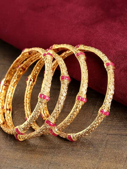 Engagement & Wedding Goldplated Indian Traditional Designer Kada Bangle Bracelet Jewellery Sz 2*8 Harmonious Colors Bridal & Wedding Party Jewelry