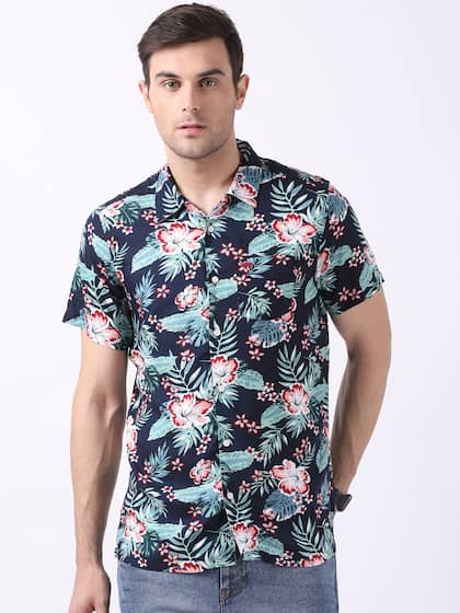 29f0cb13021d0d Short Sleeve Shirts - Buy Short Sleeve Shirts Online in India