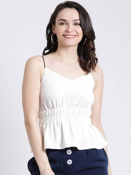 d1e151e09fd35 Peplum Tops - Buy Peplum Tops for Women Online - Myntra