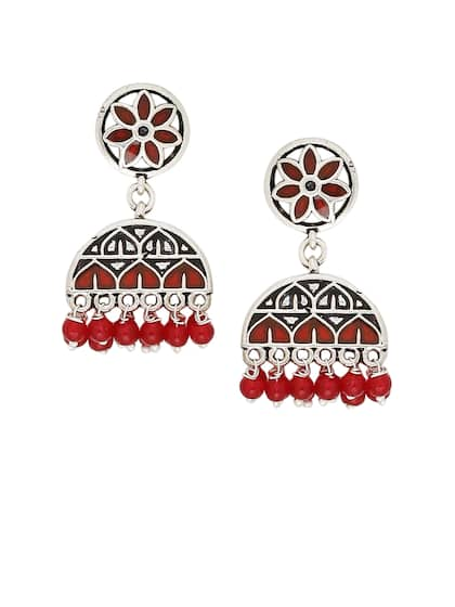 6e65e8ad7 Jhumkas - Buy Jhumka Earrings Online in India | Myntra