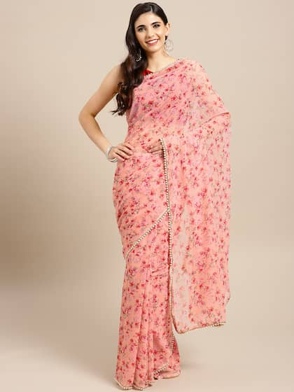 5e60b72701 Floral Sarees - Buy Floral Print Saree Online at Best Price