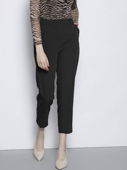 a3726954ad7 Women s Trousers - Shop Online for Ladies Pants   Trousers in India ...