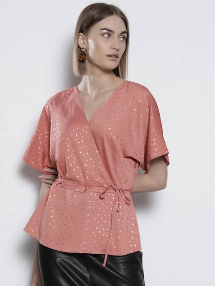 38f028d41bf141 Ladies Tops - Buy Tops & T-shirts for Women Online | Myntra