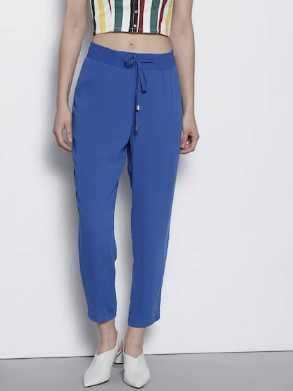1aac3723018 Women s Trousers - Shop Online for Ladies Pants   Trousers in India ...