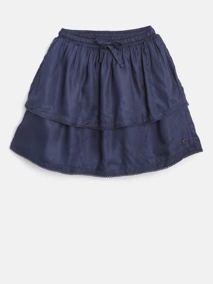 6890236d76 Girls Skirts - Buy Girl Skirt Online in India | Myntra