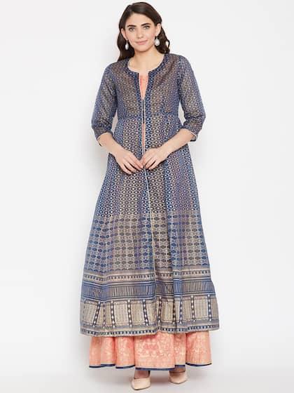 91009ef120 Cotton Anarkali Kurtas - Buy Cotton Anarkali Kurtas online in India