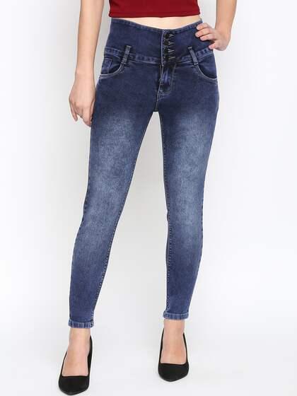 684f9c417de High Waisted Jeans - Buy High Rise Jeans For Men   Women Online