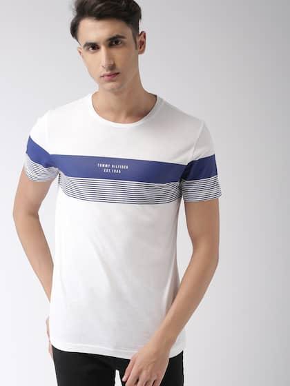 16a361830 Tommy Hilfiger Tshirts - Buy Tommy Hilfiger Tshirts Online | Myntra