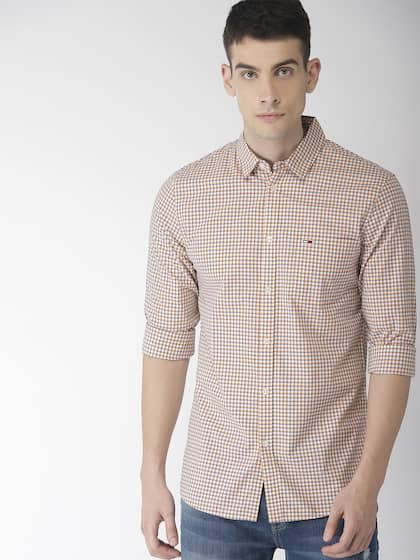 aee505065 Tommy Hilfiger Yellow Shirts - Buy Tommy Hilfiger Yellow Shirts ...