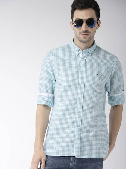 5bb26a97c Tommy Hilfiger Linen Shirts - Buy Tommy Hilfiger Linen Shirts online ...