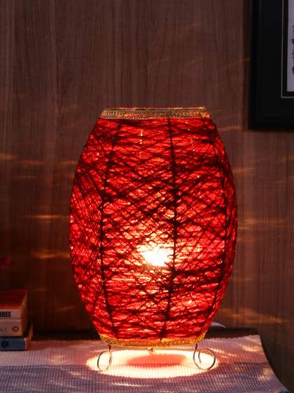 192b87a47ffd2 Aesthetic Home Solutions. Textured Table Lamp