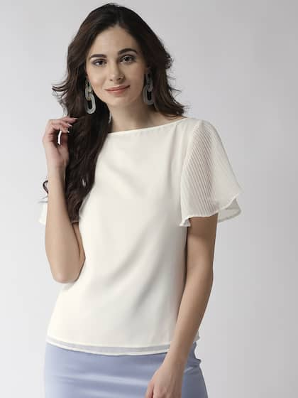 da22b422a Ladies Tops - Buy Tops & T-shirts for Women Online | Myntra