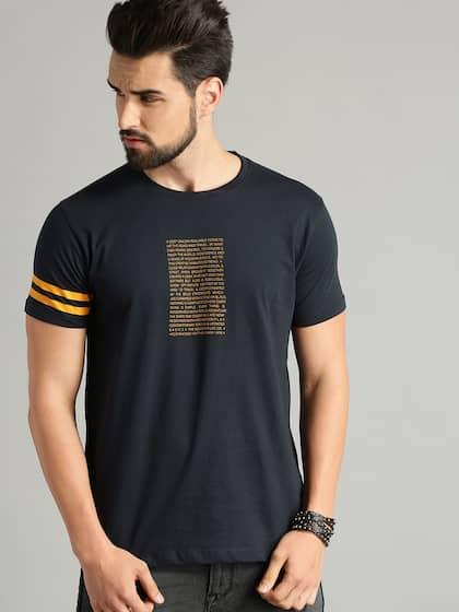 8ee48e9d Men T-shirts - Buy T-shirt for Men Online in India | Myntra