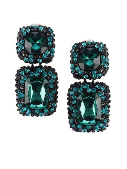 6f33bd6ce Crystal Earrings - Buy Crystal Earrings Online in India