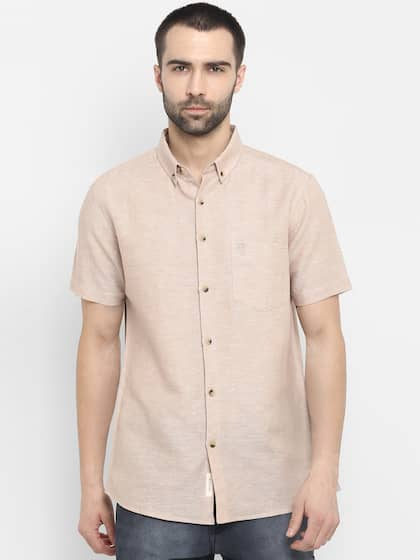 be9b9bf7 Shirts for Men - Buy Mens Shirt Online in India | Myntra