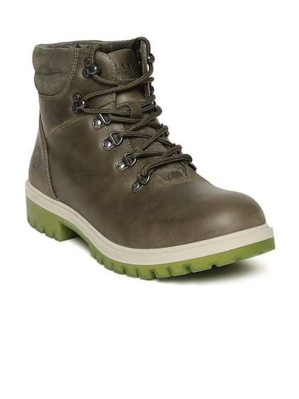 pretty nice 197e7 9a4a7 Woodland. Men Flat Boots