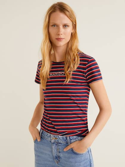 1a592269 T-Shirts for Women - Buy Stylish Women's T-Shirts Online | Myntra
