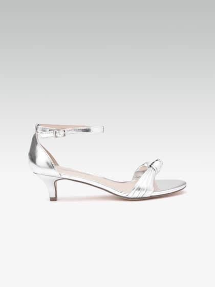16dfd968d63f6 Silver Heels - Buy Silver Heels Online in India
