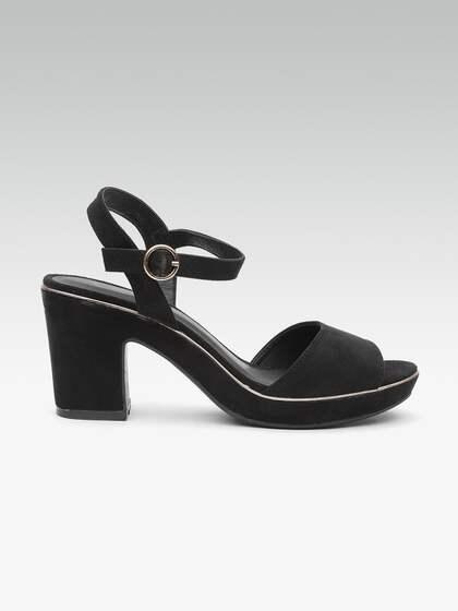 431c9c553b22d Heels Online - Buy High Heels, Pencil Heels Sandals Online | Myntra
