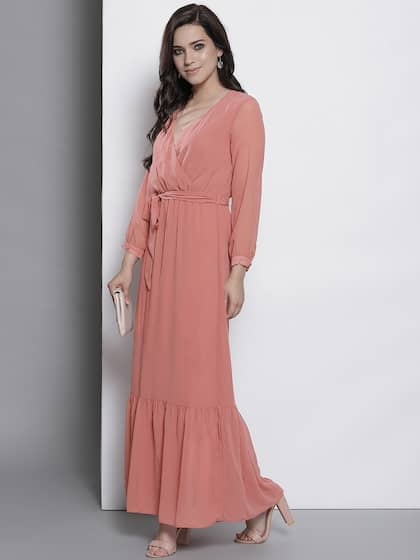 ed035e279220 Long Sleeve Gowns - Buy Full Sleeve Gown Online in India | Myntra
